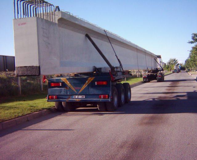 Yüksel İnşaat TCDD Köprü Kiriş Kalıbı